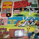 Warner Bros vintage 1975 Bugs Bunny record full-color book story children music