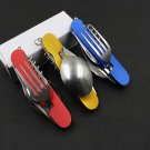 Stainless Steel Hunting Survival Tools Multitool Pocket Camping Folding Knife Outdoor Travel Cu