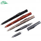 4in1 Mulitifunction Pen Self Defense Camping Tactical Tungsten Steel EDC Tool Weapons Personal