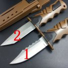 58HRC 440C Blade Professional diving Leggings outdoor tool strong survival hunting camping knif