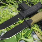 2 Options! 1500 Tactical Fixed Knives,12C27 Steel Blade Hunting Knife,Camping Survival Knife.Ou