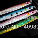 4pcs 200g/150g/100g lead fish lead jig knife jig Mixed  4 colors with seperate package free shi