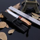 Stainless Steel Fixed Blade Knife Coltello Navajas Camping Hunting Knife Survival Knife With Wo