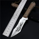 2016 Real Navajas Self-defense Field High Hardness Saber Wilderness Survival Of Folding Knife B