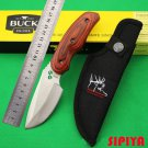 BUCK Fiexd Camping Knife Hunting Knife EDC Tool Outdoor Survival Tools with Nylon Sheath BC1586