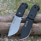 2 Options! BUCK Small Fixed Knives,420HR Blade Tactical Survival Knife,Hunting Knife Outdoor To