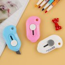 1 Pcs Creative Portable Office to Learn Utility Knife Cutting Supplies Stationery Knifes Stainl