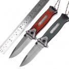 Browning tactical folding knife 5Cr15Mov steel sharp camping survival pocket Knives  wood or G1
