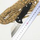 BMT Custom Yojimbo 2 C85 Knife Black G10 Handle 9Cr Blade C85GP2 folding Fixable Tactical campi