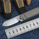 Top Quality KESIWO Mini Folding pocket EDC knife S35VN blade Titanium handle Utility outdoor ca