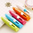 1Pcs Sweet Candy Color Portable Utility Knife Paper Cutter Cutting Paper Razor Blade Office Sta