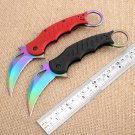 Hot  Fox Karambit Knife G10 handle Never Fade folding knife Outdoor Camping Rescue Survival Kni