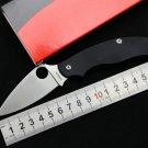 Good quality spyder C94 folding knife cpm s30v blade G10+steel Handle outdoor Camping Pocket fr