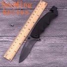 Scorpion rescue folding knife titanium 5CR13MOV blade black aluminum handle camping survival po