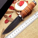 new jungle hunting knife hand-forged Damascus 58HRC High Carbon Steel Fixed Blade knives ganzo