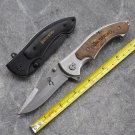 [ Large Size ] Brand Brand Folding Pocket Knife Titanium Blade Survival Knives Hunter EDC Tool