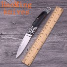 HM Key chain mini folding knife gentleman camping survival pocket knives outdoor hunting travel