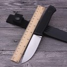 Hot straight tactical knife 8Cr13 fixed blade hunting knife camping survival knife slip ABS han