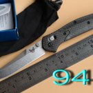 JUFULE OEM Benchmake 940 943 S90v Axis folding knife carbon fiber Copper washer hunting camping