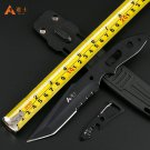 High Quality Hunting Knife Outdoor Survival Camping Knife Straight hunting Knife with Plastic s