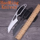 HM Fixed blade Neck knife camping survival tactical hunting Counter Strike karambit knives D2 b