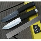 Buck 009 56HRC 420 blade fixed blade knife Outdoor Survival Camping Hunting Tools  BC995