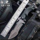 pcb ruler not Karambit knife Camping  tactical fixed knives cs go Hunting survival faca diagnos