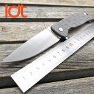 LDT Brand Tabargan 95 Tactical Folding Blade Knife D2 Blade Steel Handle Ball Bearings Flipper