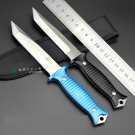 7Cr17Mov blade 58HRC Sanding and stone wash fixed blade knife hunting tactical outdoor knives s