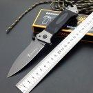 Browning Folding Knife 8CR14Mov Titanium Coating Blade G10 Handle Pocket Survival Knifes Huntin