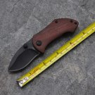 2pcs/lot, Mini Pocket Brand Folding Knife Tactical Survival Knives 440C Blade Wood Handle Outdo