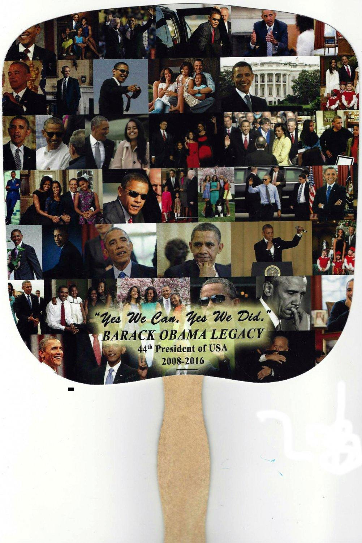 Barack Obama Legacy Fan  --  Number Of Fans:  2,500