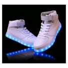 Light LED Shoes Mens Sports Sneakers White / Black / Green / Orange