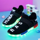 8 Colors Luminous Shoes Black For Adults