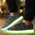 7 Color Light Up Shoes With Usb Charging Black