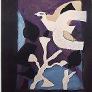 "Georges Braque-""Derniers Message""""Galerie Maeght"" Exhibition Poster-Rare."