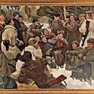 Yuri Neprintsev 'The Rest After Battle' 1955 Soviet socialist realism painting