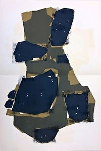 Raoul Ubac Original lithograph 1955 Executed for Derriere le Miroir
