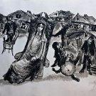 Bernstein Moshe  - The Bride jewish wedding Hand signed and Numbered 77/200