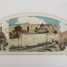 "Abel Pann ""Jerusalem"" Hand Signed and Numbered 846/1000"