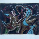 "Andre MASSON  ""ADAM AND EVE"" SIGNED AND NUMBERED 19/99 RARE LITHOGRAPH"