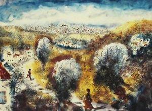"Albert Goldman ""Landscape III  + numbered  33/250 Serigraph"