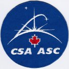 Canadian Space Agency CSA Badge Iron On Embroidered Patch