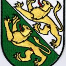 Canton of Thurgau Coat of Arms Switzerland Swiss Confederation Iron On Embroidered Patch 2.5x3