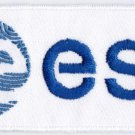 European Space Agency ESA Badge Iron On Embroidered Patch 4x1.65