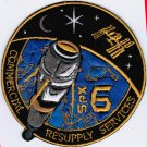 ISS Expedition 43 Spacex NASA Spx-6 Dragon CRS Space Iron On Embroidered Patch