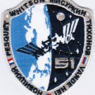 ISS Expedition 51 International Space Station Badge Iron On Embroidered Patch 3.5x4