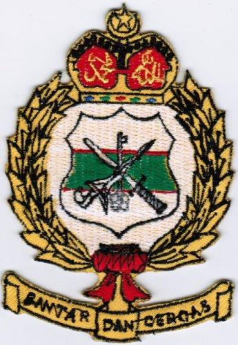 Kor Risik Diraja Royal Intelligence Corps Malaysian Agency Army Patch 2.4x3.5