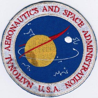 NASA Seal National Aeronautics and Space Administration Agency USA Iron On Patch