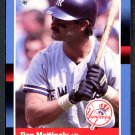 1988 Donruss #217 Don Mattingly YANKEES